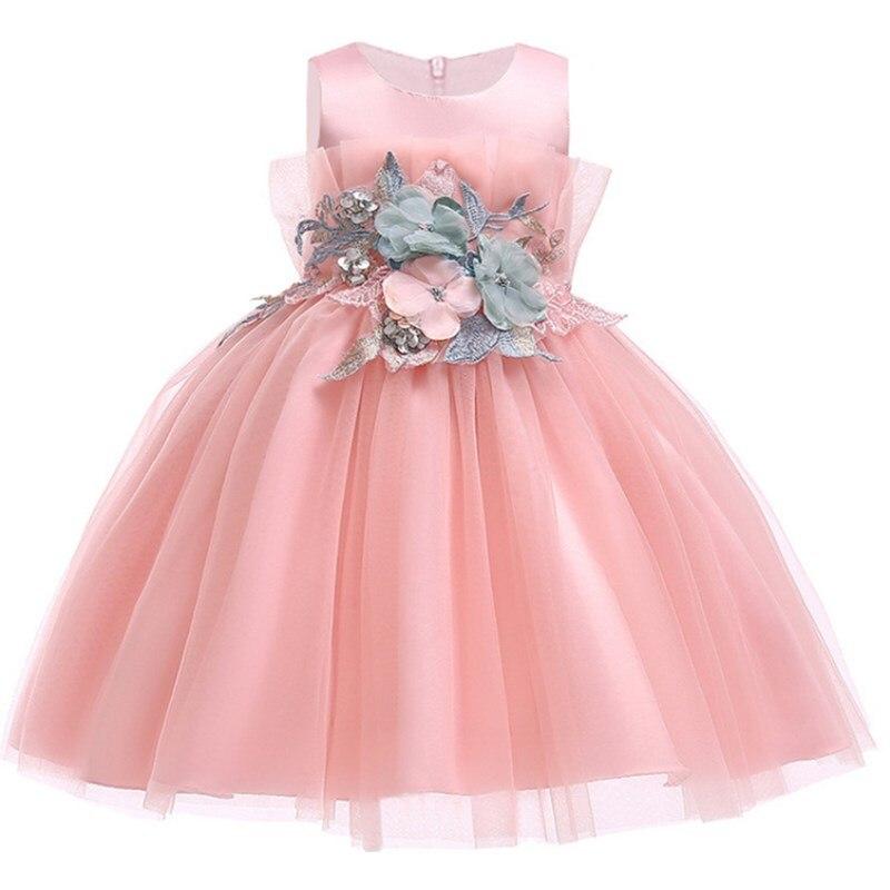 0e39c0b67 Vestido de princesa para niñas, ropa de noche para niños, vestidos de  encaje de