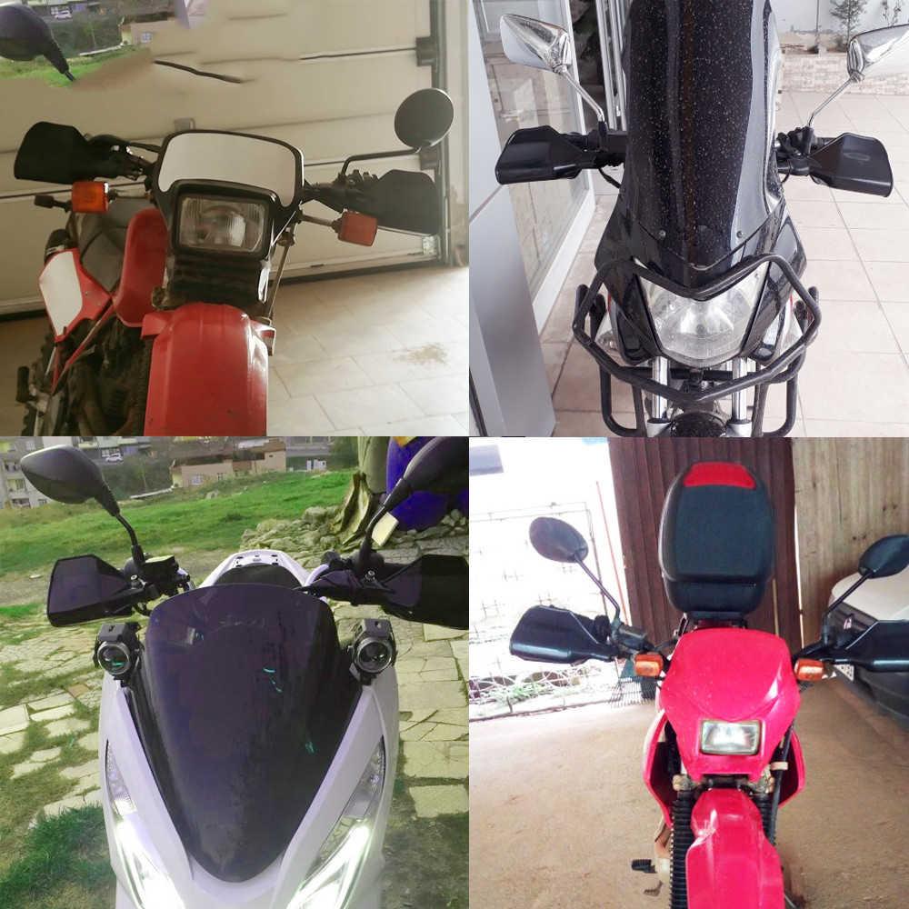 Motocicleta mão guarda handguard escudo à prova de vento universal engrenagem protetora para ktm 530exc EXC-R XC-W XCR-W yamaha serow225/250