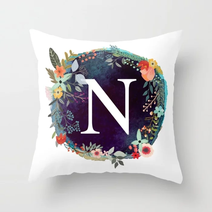 personalized-monogram-initial-letter-n-floral-wreath-artwork-pillows.webp