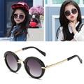 2017 Fashion Round Kids Sunglasses Children Sun Glasses Anti-uv Baby Vintage Eyeglasses Girl Cool UV400 oculos infantil de sol