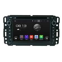 Car 1024*600 QUAD CORE GPS DVD Radio Navigator 2 Din Android 4.4.4 16G for GMC Yukon Tahoe 2007–2012