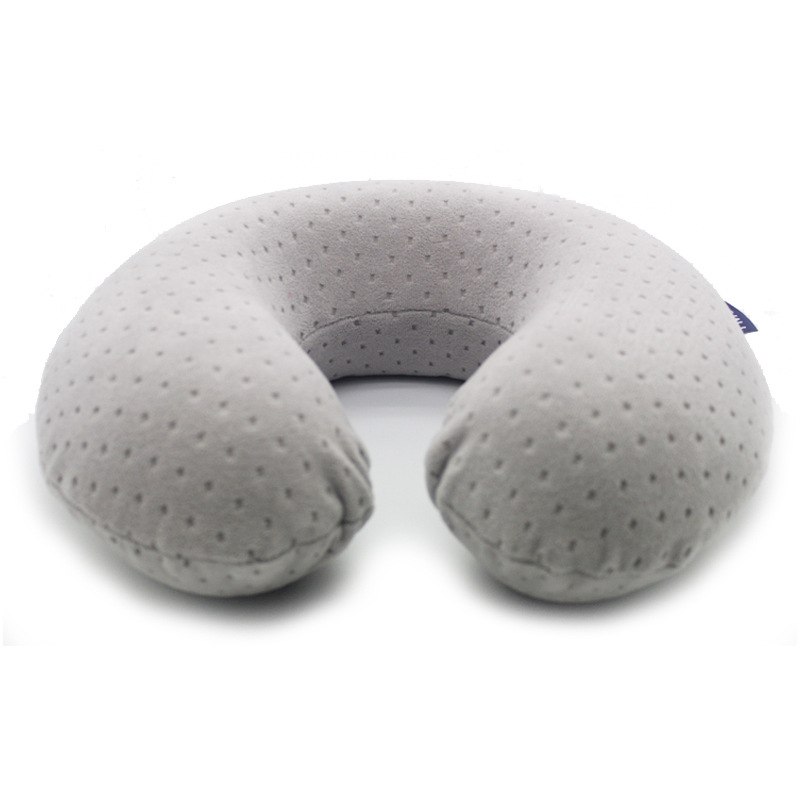 Superb Home Design U-neck Travel Support Pillow Part - 14: New Design U Shape Pillows Neck Support Protector Pillow Soft Wool Fabric Cushion  Home Decor Car Office Memory Foam Pillow Z03-in Decorative Pillows From ...