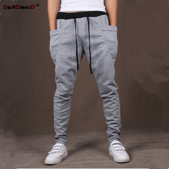 Unique Pocket Mens Joggers Cargo Sweatpants