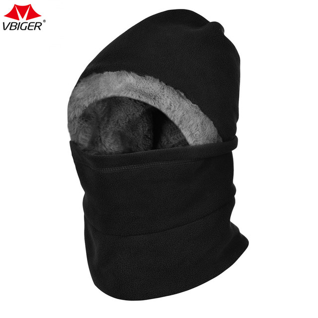 Vbiger Winter Neck Warmer Hiking Caps Hat Outdoor Cyling Ski Mask Face Cover  Thick Windproof Balaclavas for Men and Women cb4ed96a4