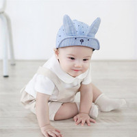 3 Colors Hot Lovely Kids Baby Bunny Rabbit Visor Baseball Cap Casquette Cotton Peaked Hat High Quality Dropshipping JU31