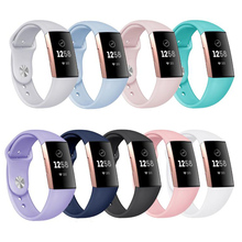 Fashion Women Men Bracelet Strap for Fitbit Charge 3 Band Replacement Watch Band