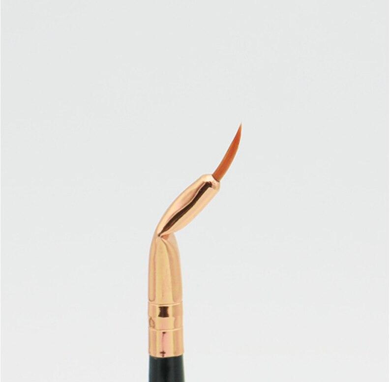 Najlepiej sprzedający się wysokiej jakości profesjonalne Eyeliner pędzle do makijażu płynny Eyeliner do oczu z eyelinerem niezbędne kosmetyki