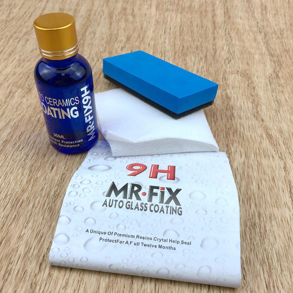 9H Pro kit de revêtement de voiture en céramique anti-rayures Auto verre liquide cire Automobile peinture vernis Mr Fix It Pro accessoires de détails