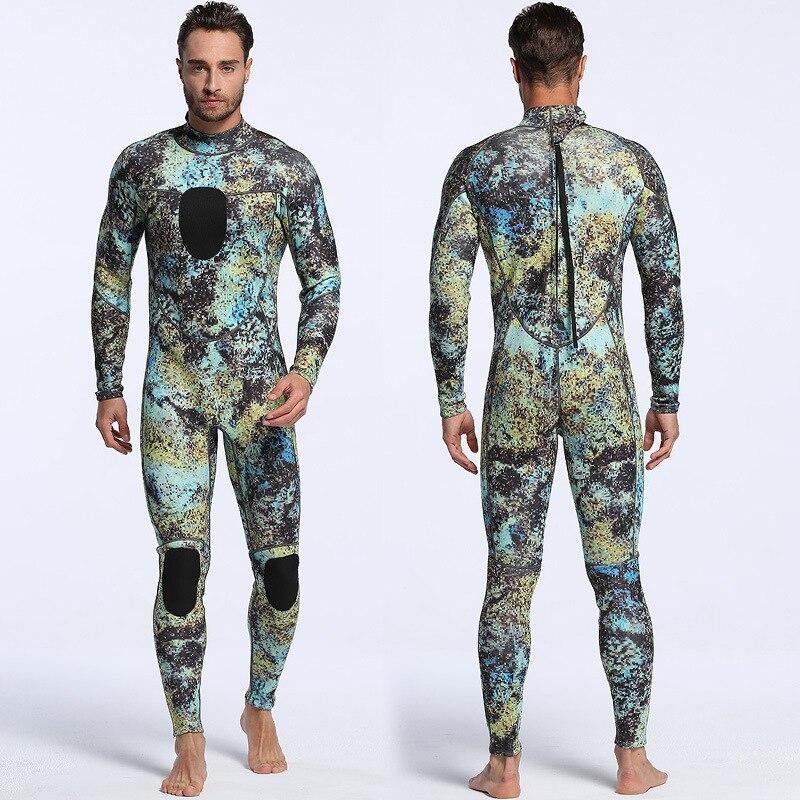 3mm men Camouflage Diving suit neoprene pesca diving spearfishing wetsuit surf snorkel swiming Jumpsuit combinaison Wet Suits sbart camo spearfishing wetsuit 3mm neoprene camouflage wetsuit professional diving suit men wet suits surfing wetsuits o1018