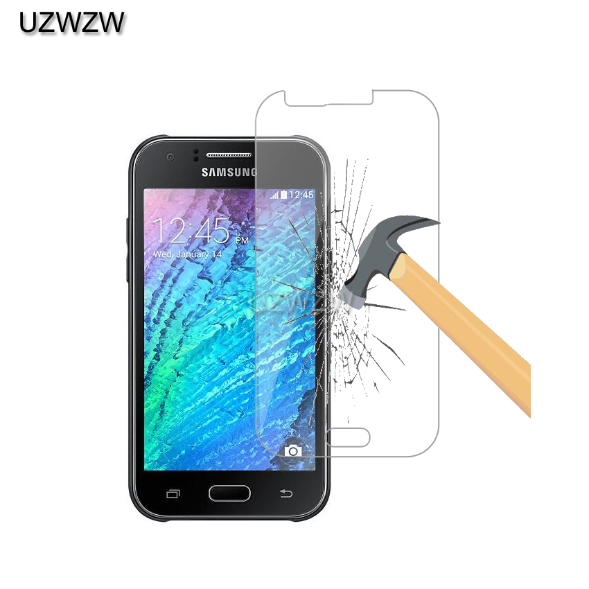 2pcs    Tempered Glass For Samsung Galaxy J1 J100H J100FN Screen Protector Protective Film Glass For Samsung J1