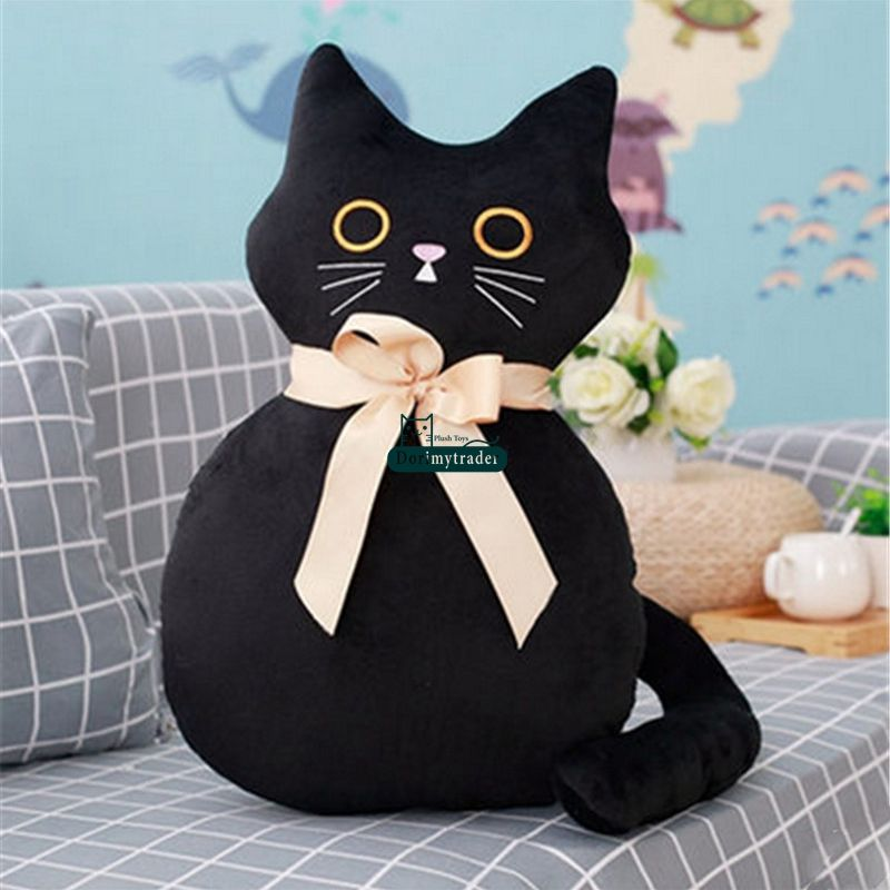 558e839ff9f ... Dorimytrader New Anime Cat Plush Pillow Toys Giant Cuddly Soft Cats  Doll Baby and Lover Present ...
