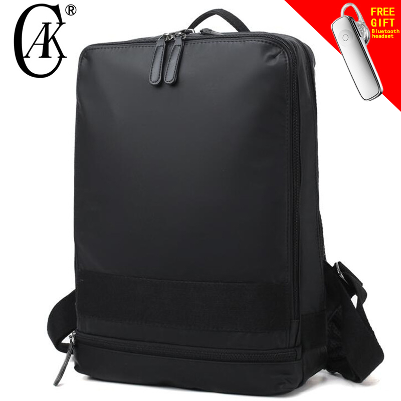CAK Brand Men 14inch Laptop Backpack New Style Fashion Casua