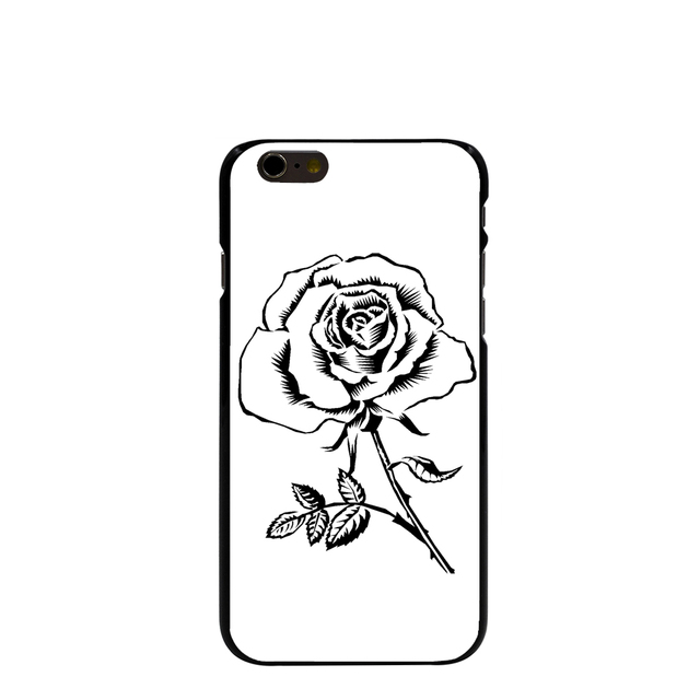 10122 flowers clip art Hard transparent Cover cell phone