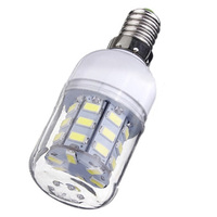 E14 Corn Żarówka High Power LED 5730 SMD Lampa Oszczędność energii Światła Kolor: Ciepły Biały opakowanie: 8 Sztuk