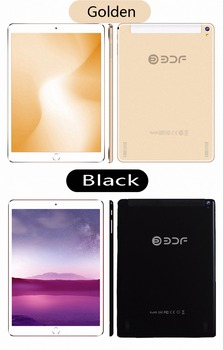 BDF 10 Inch Smart Android Tablet Computer Quad Core 3G Phone Tablet Pc 4GB/32GB 1920*1200 IPS Android 7.0 Bluetooth WiFi Tablet
