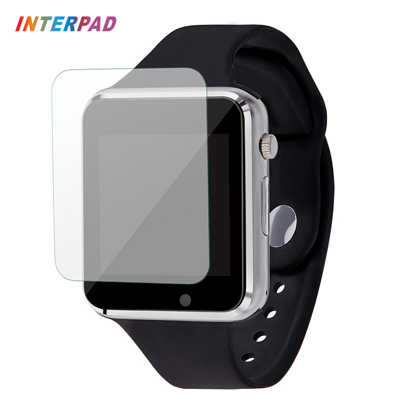 Interpad W88 Smart Watch Android Bluetooth Wristwatch With Glass Film Sync Notifier Support SIM TF Smartwatch For Xiaomi Huawei