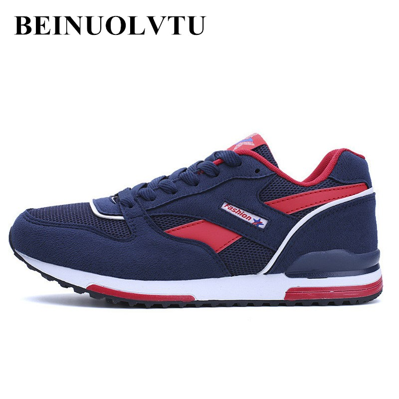 Beinuolvtu 2017 Spring Autumn Men Sports shoes lightweight Running shoes for men sneakers Zapatillas Hombre athletic shoes 2017 spring autumn lightweight men