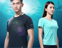2016 New Humbgo Men/female Shirt Short Sleeve Running T Shirt For Anti UV/ Breathable/Quick drying Clothes Plus size S 4XL