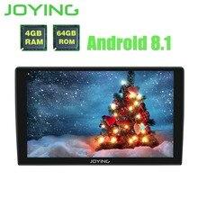 Радуясь 1 Din 8 Core 4 GB + 64 GB 9 »Android 8,1 GPS автомобильный радиоприёмник Универсальный PX5 DSP аудио сенсорный экран поддержка carplay видео выход SWC