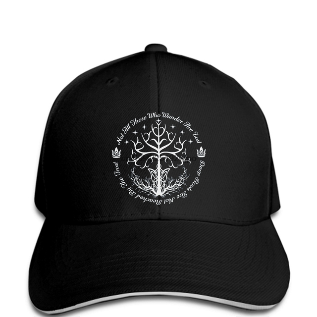 funny Baseball caps Lord Of The Rings White Tree Of Hope Men s Fashion cap c93c357368