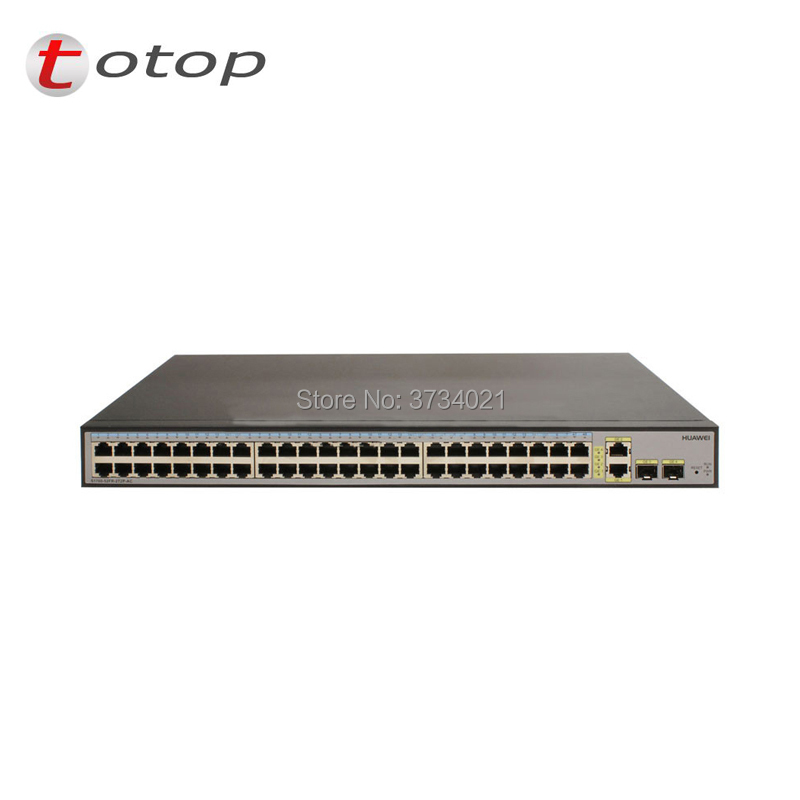 Hot sale Original S1700 52R 2T2P AC huawei switch 48 port ethernet 10/100 and 2 port gigabit sfp switch