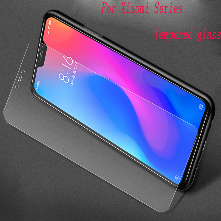 2pcs Tempered Glass for Xiaomi Redmi 6 Pro 6A A2 Lite S2 5 Plus