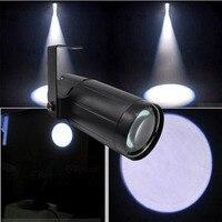 3 W Witte Led Pinspot Licht Wassen Smalle Beam Pinspot Verlichting Mount Spots Projector voor Dance Floor Viering Party Cafe