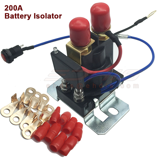 200 AMP car Battery Isolator Dual Battery auto increase battery 12V / 24V