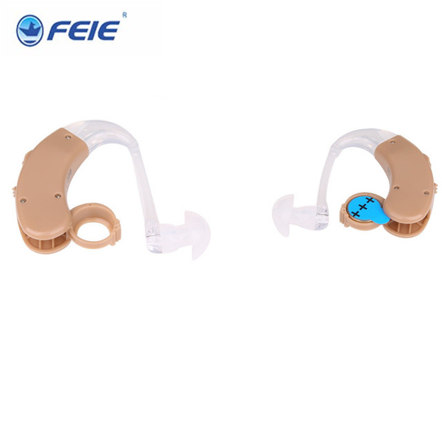 2 PCS Favorable Price New Sound Analog BTE Type Hearing Aid S 998