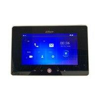 Ahua Multi Язык VTH5221D CW 7 дюймовый сенсорный крытый монитор, встроенный Wi Fi и камеры, IP звонок, видео домофон, проводной дверной звонок
