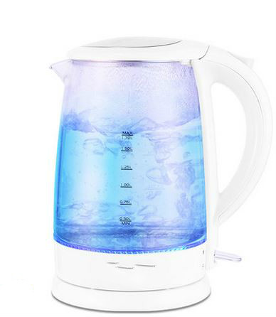 все цены на Electric kettle transparent with the automatic cut-off electric kettles Safety Auto-Off Function