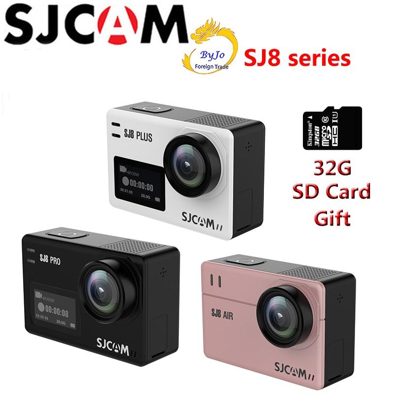 Original SJCAM SJ8 Serie SJ8 Air & SJ8 Plus & SJ8 Pro 1290 p 4 Karat Aktion Kamera WIFI Fernbedienung wasserdichte Sport DV