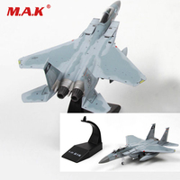 1/00 Scale Plane Toys for Kid F 15 Tomcat Eagle Aircraft Alloy Diecast Aircraft Airplane fighter Model for Fans Collection Gift