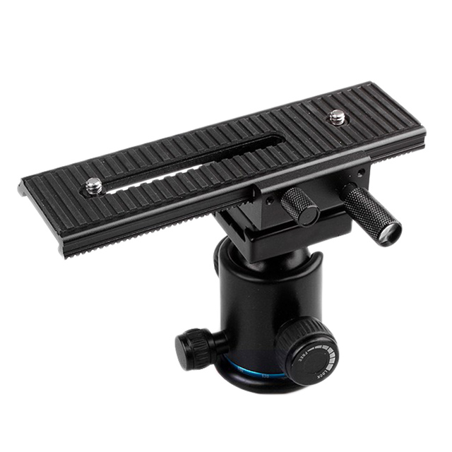 Fotomate 2 Way Macro Shot Focus Rail Slider Tripod Head LP-01 for Canon Nikon Camera DSLR