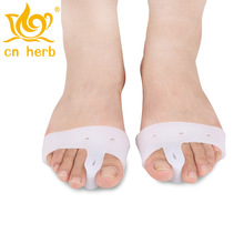 Cn herb Silicone before the palm pad half yards toe valgus orthosis separator insoles 1 pairs