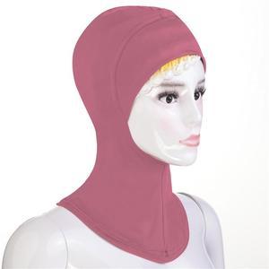 Image 2 - Hiyab musulmán suave con gorro y bufanda para mujer, cubierta para el cuello, gorro de Amira, Ninja islámico, Ramadán, oración, Oriente Medio