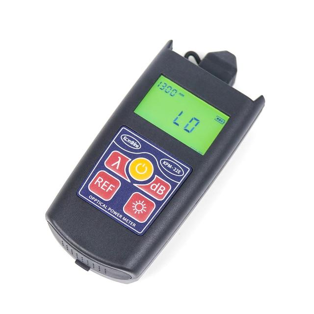 Komshine أحدث تحديث KPM 22E الألياف البصرية فقدان اختبار أداة جيب الطاقة البصرية متر wattmeter