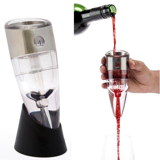 Adjule Wine Decanter Set Essential Equipment Red Aerator Filter Bar Tools