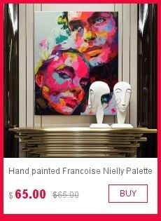 Pintados à mão francoise nielly paleta faca