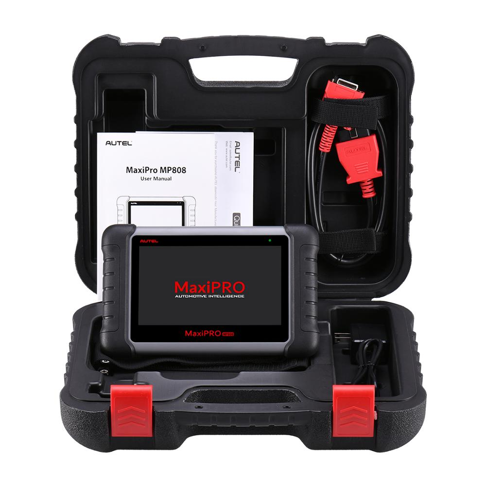 Image 5 - Autel MaxiPRO MP808 Diagnostic Tool OBD2 Professional OE level OBDII Diagnostics Tool Key Coding PK MaxiDAS DS808 DS708  MS906-in Engine Analyzer from Automobiles & Motorcycles