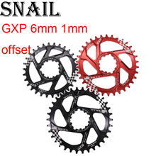 Snail Chainring for GXP 6mm 6 mm offset round 30t 32t 34t X9 X0 XX1 XO1 eagle Cycling MTB Bike Chainwheel  Tooth Plate for sram gxp цены онлайн