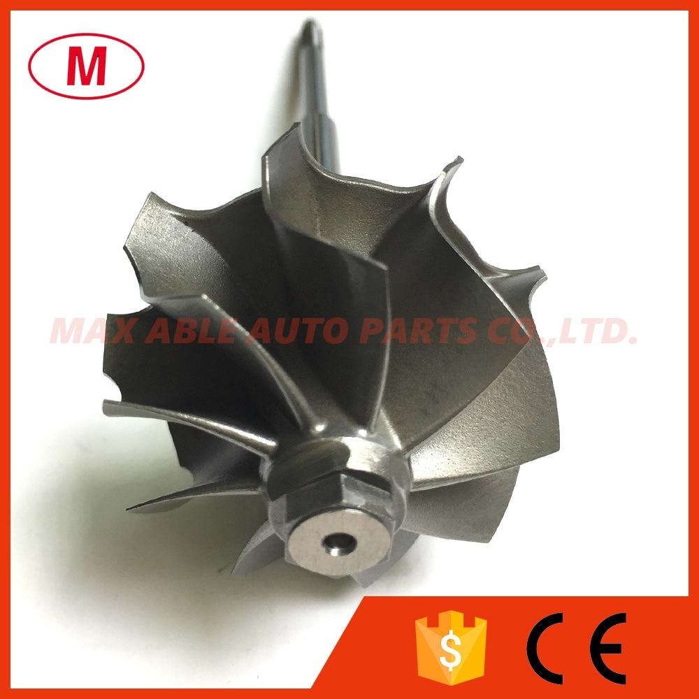 K04 53049700064 53049880064 06F145702CX 44 50 50 00mm 9 blades turbo turbine wheel shaft turbo wheel