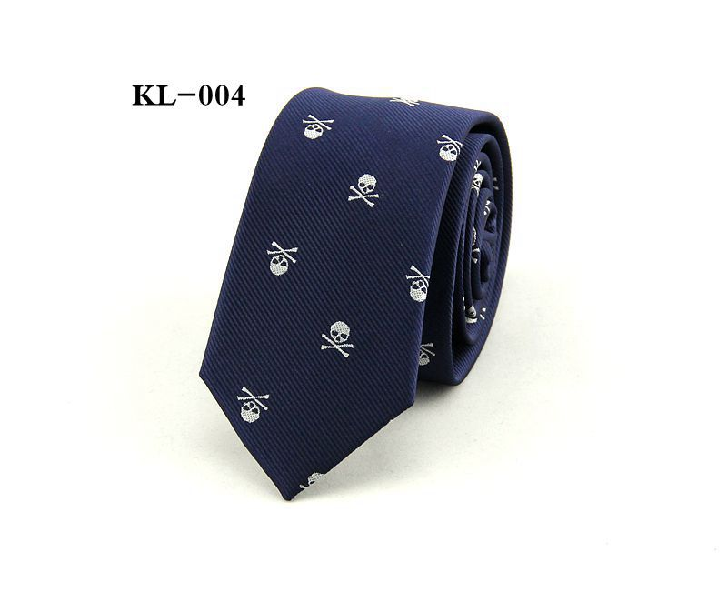 Mens tie skinny 6cm leisure necktie cartoon skull wedding casual mens tie skinny 6cm leisure necktie cartoon skull wedding casual polyester neckties 1200 thick business red black blue purple in ties handkerchiefs from ccuart Images