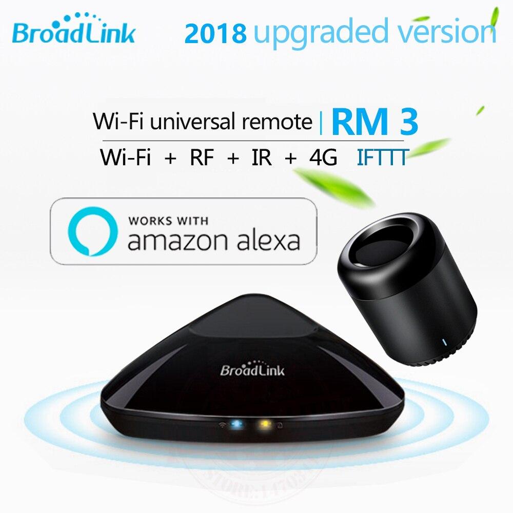 Broadlink RM3 RM Pro +/RM mini3 умный дом автоматизация дистанционного универсальный контроллер интеллектуальные WI-FI + IR + RF переключатель для iOS Android