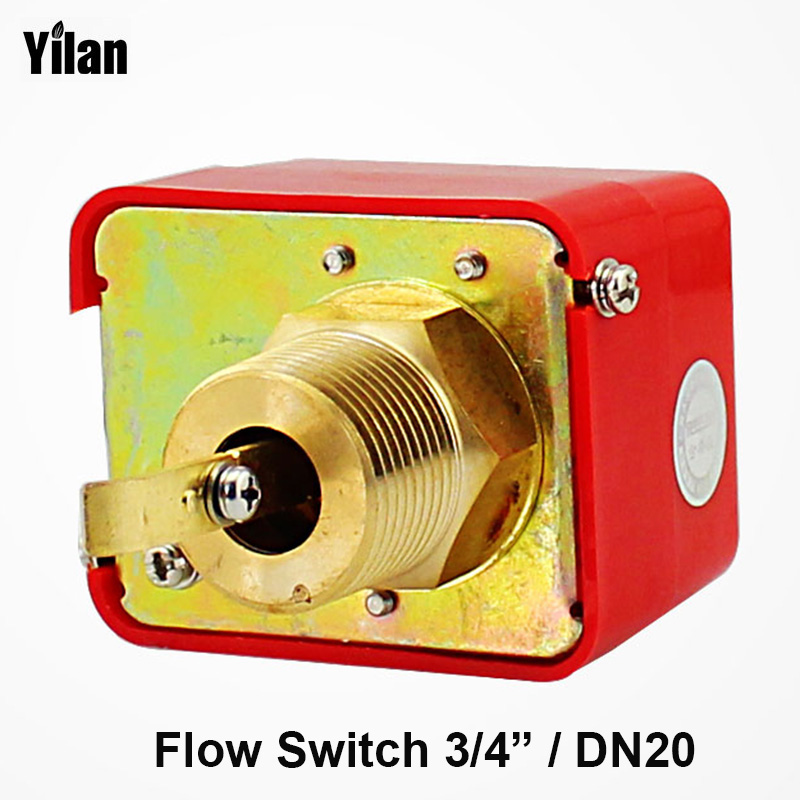 3/4 AC250V 5A Water Paddle Flow Sensors Male Thread Flow Paddle Water Pump Flow Switch HFS-25(DN20) ,LKB-01 1 2 pt male thread 90w power electric pressure flow switch for water pump