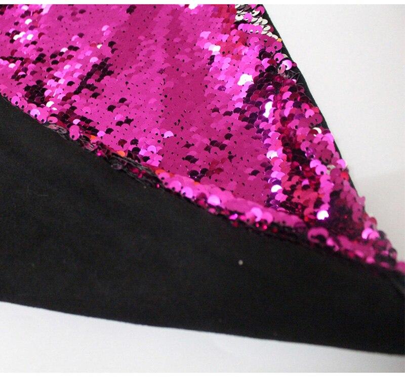 Reversible Sequin Mermaid Decorative Pillowcase 3