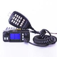 רכב נייד רדיו QYT KT-7900D 25W מיני רכב נייד שתי דרך רדיו רדיו בסיס רכב רכוב מכשיר קשר רכב 4 להקות Quad Band Quad מתנה (4)