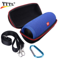 Carry Belt Zipper Sleeve Portable Protective Pouch Bag Box Cover Case For J BL Charge3/Charge 3 Bluetooth Speaker