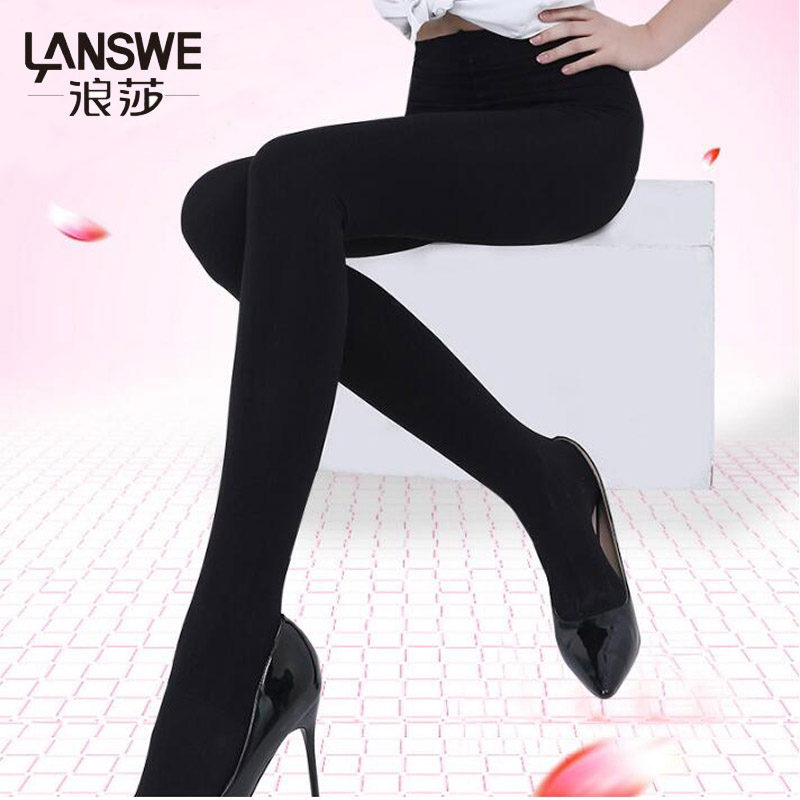 LANSWE high qulity Micro pressure slim women Tights 1000D lady solid sexy Brand Pantyhose langsha