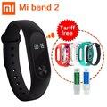 Original Xiaomi mi band 2 Smart Wristband Bracelet mi band 2 Smart Band Fitness Tracker Heart Rate Monitor Touchpad OLED Stock